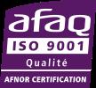 Logo AFAQ - Iso 9001